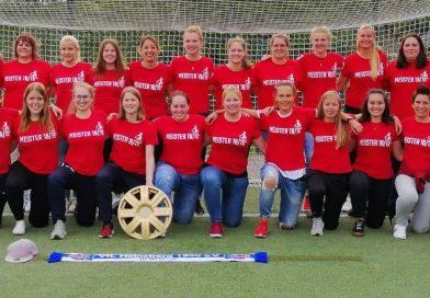 Jubel ohne Grenzen – Frauenmannschaft der SG ist Meister!