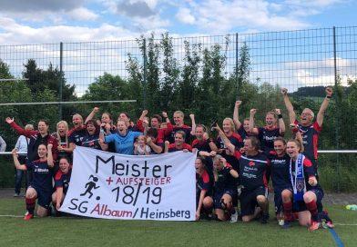Endlich am Ziel – Bezirksliga-Aufstieg der SG-Frauen perfekt